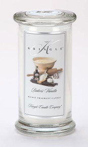 Baker's Vanilla Kringle Candle- Large Apothecary Jar