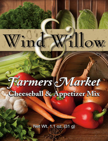 Wind and Willow Farmers Market Cheeseball and Appetizer Mix