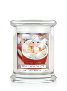 Kringle Candle Hot Chocolate, Small Classic Jar Candle 8.5 oz