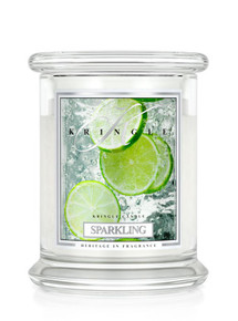 Kringle Candle Sparkling, Medium 2-Wick Classic Jar Candle 16 oz