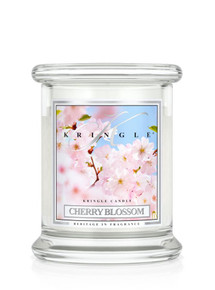 Kringle Candle Cherry Blossom, Small Classic Jar 8.5 oz