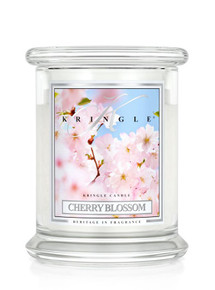 Kringle Candle Cherry Blossom, Medium 2-Wick Classic Jar 16 oz