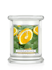 Kringle Candle Citrus & Sage Small Classic Jar 8.5 oz