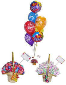 Birthday Lollipop Delight Balloon Bouquet