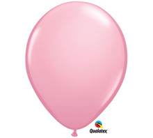 "11"" Qualatex Pink Latex Balloons"