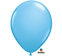 "11"" Qualatex Pale Blue Latex Balloons"