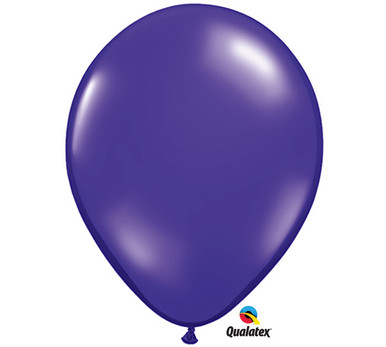 "11"" Qualatex Quartz Purple Latex Balloons"
