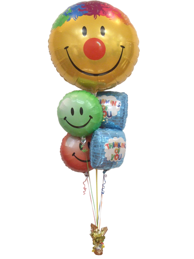 Thinking of You Smiles Balloon Bouquet