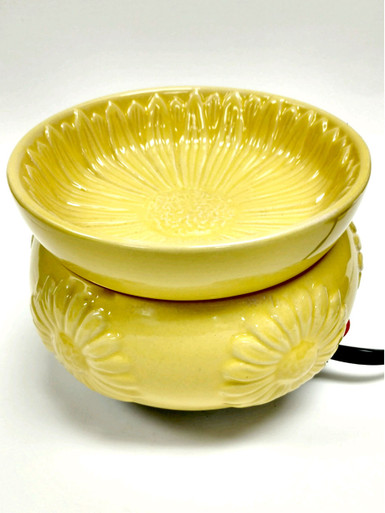 Yellow Gerbera Daisy Electric Candle Warmer
