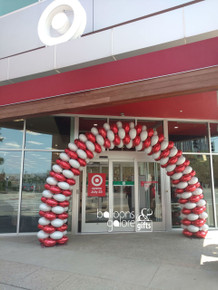 Target Grand Opening Balloon Arch