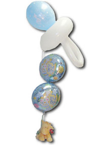 It's a Boy or Girl Pacifier Bouquet