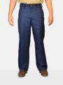 Navy 50% Cotton / 50% Polyester Work Pant