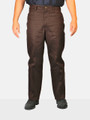 Brown 50% Cotton / 50% Polyester Work Pant