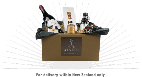 1 bottle wine and gourmet treat gift pack