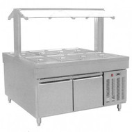 BS8C Refrigerated Buffet Bain Marie Centre Servery. Weekly Rental $83.00