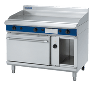 Blue Seal Evolution Series GPE58 - 1200mm Gas Griddle Electric Convection Oven Range. Weekly Rental $148.00
