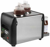 ROLLER GRILL WARM IT W2 Double Sauce and Chocolate Warmer. Weekly Rental $9.00