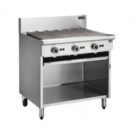 Cobra CB9 Gas BBQ 900mm On Open Cabinet Base. Weekly Rental $33.00