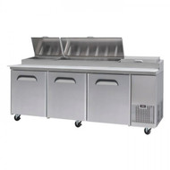 Bromic PP2370 Three-Door Pizza Prep Counter. Weekly Rental $68.00