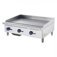 Cookrite ATMG-36 Gas Griddle. Weekly Rental $23.00