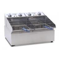 Roband FR25 - 2 x 5 Litre Pans Electric Deep Fryer. Weekly Rental $10.00