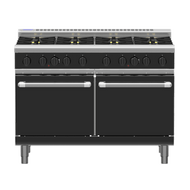 Waldorf Bold RNLB8820G - Gas 8 Burner With Static Oven Low Back Version. Weekly Rental $135.00