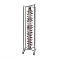 PLATE STACKING TROLLEY-84 PLATES