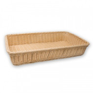 BREAD BASKET-RECT., POLYPROP 530x320x90mm