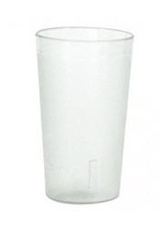 TUMBLER PEBBLED- SAN PLASTIC H.D, 225ml