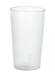 TUMBLER PEBBLED- SAN PLASTIC H.D, 340ml