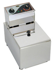 Roband - F18 -  SINGLE PAN DEEP FRYER -8 Litre - 15AMP. Weekly Rental $6.00