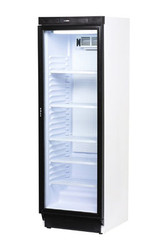 Bromic GM0374 GLASS DOOR DISPLAY FRIDGE -WHITE -372Litre. Weekly Rental $15.00