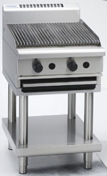 Waldorf CH8600G-LS GAS CHARGRILL 600mm ON STAND. Weekly Rental $49.00