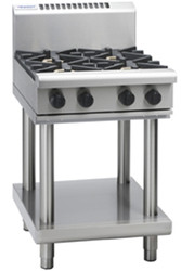Waldorf RN8400G-LS GAS 4 BURNER ON STAND. Weekly Rental $42.00