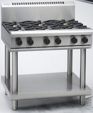 Waldorf RN8600G-LS GAS 6 BURNER ON STAND. Weekly Rental $52.00