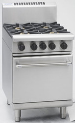 Waldorf RN8410G GAS RANGE STATIC OVEN + 4 BURNER. Weekly Rental $61.00