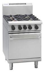 Waldorf RN8413G GAS RANGE STATIC OVEN 2 BURNER + 300mm GRIDDLE. Weekly Rental $ 61.00
