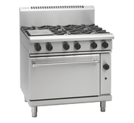 Waldorf RN8610G GAS RANGE STATIC OVEN + 6 BURNER. Weekly Rental $76.00