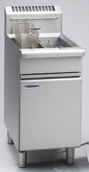 Waldorf FN8130G SINGLE PAN GAS FRYER 600mm -31litre. Weekly Rental $58.00