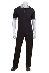 Traditional Black Polo Shirt