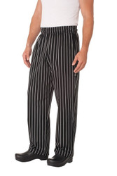 Chalk Stripe Designer Baggy Pants