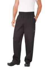 Black Cotton Designer Pants