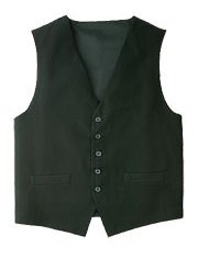 Mens Black Basic Vest