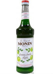 MONIN GREEN APPLE SYRUP