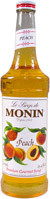 MONIN PEACH SYRUP