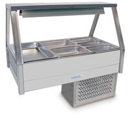 Roband ERX23RD COLD FOOD DISPLAY. 6 PANS INCLUDED. Weekly Rental $64.00