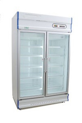 Anvil Aire GDJ1261 DOUBLE GLASS DOOR UPRIGHT FREEZER- 1000 LITRE. Weekly Rental $49.00
