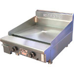GOLDSTEIN - GPGDB-24 - GAS BENCH MOUNTED GRIDDLE. 610MM. Weekly Rental $31.00