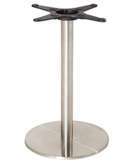 BOLERO - U552 -STAINLESS STEEL ROUND TABLE BASE