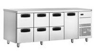 Inomak UBD6000 UNDERBAR DRAWER FRIDGE -6 DRAWERS. Weekly Rental $42.00